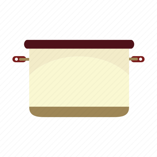 container, cooking, food, kitchen, pot icon