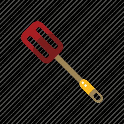 equipment, flipper, kitchen, slotted, turner, utensil icon
