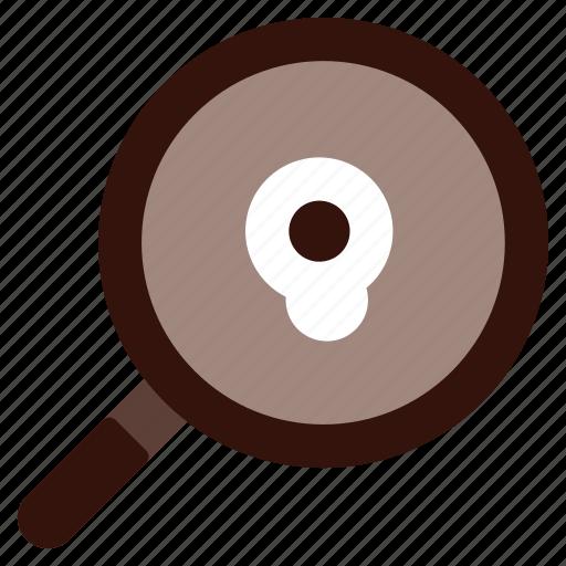 food, frying, kitchen, pan icon