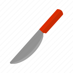 cut, cutlery, kitchen, knife, sharp, silverware, utensil icon