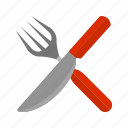 cutlery, fork, knife, meal, metal, spoon, utensil