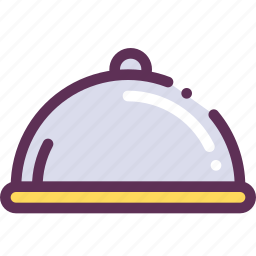 breakfast, dinner, lunch, serve, surprise icon