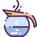 appliances, boiled, cofee, household, tea, teapot, water icon