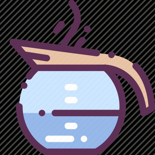 appliances, boiled, cofee, household, tea, teapot, water icon