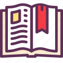 book, cook, kitchen, recipe icon