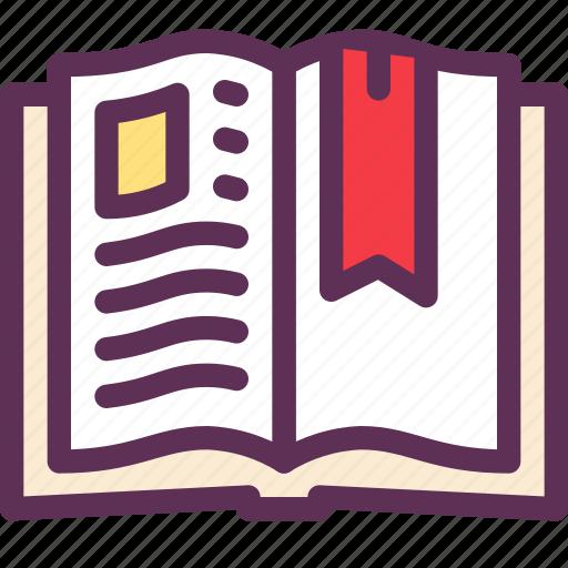book, cook, kitchen, recipe icon