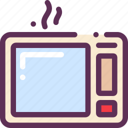 cook, food, microwave, oven icon