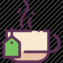 bag, cofee, cup, hot, tea icon