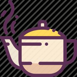 appliances, boiled, household, tea, teapot, water icon