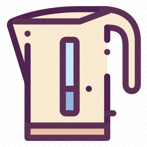 appliances, boiled, electricity, household, tea, teapot, water icon