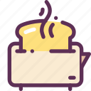 bread, breakfast, food, fry, toasts icon