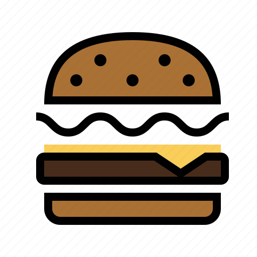 cheeseburger, food, kitchen icon