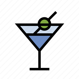 cocktail, drink, food, kitchen, martini icon