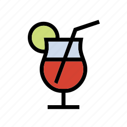 cocktail, drink, food, kitchen, tropical icon