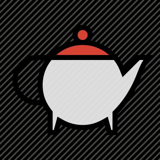 food, kettle, kitchen, pot, tea icon