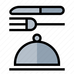 food, kitchen, meal, room, service icon
