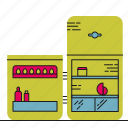 food, fridge, kitchen, storage icon