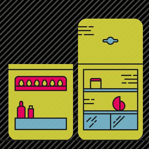 food, fridge, kitchen, storage icon