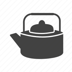 antique, kettle, kitchen, pot, style, tea, traditional icon