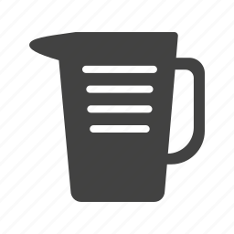 beverage, drink, food, fresh, jug, pitcher, water icon