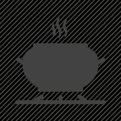 burner, domestic, fuel, gas, heat, kitchen, stove icon