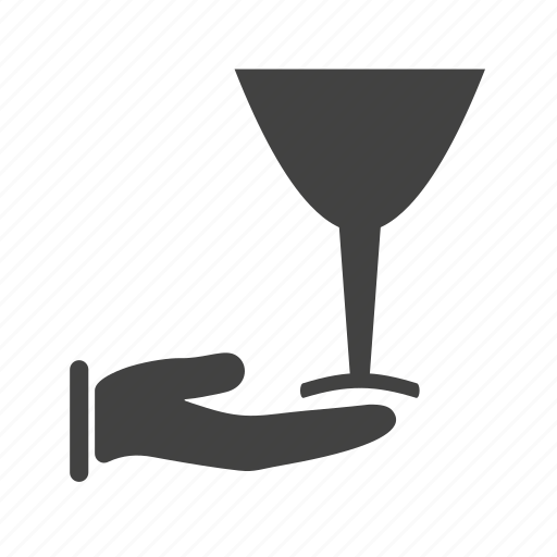 champagne, luxury, restaurant, serving, waiter, wine icon