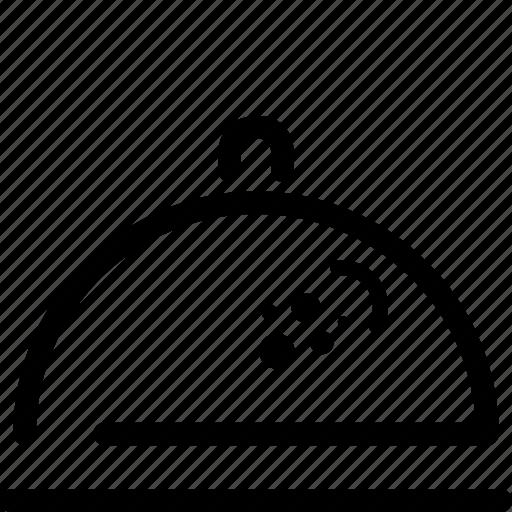 cook, flat icon, kitchen, restaurant, salver icon
