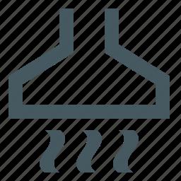food, gizmo, hood, kitchen, kitchen hood, restaurant, simple icon