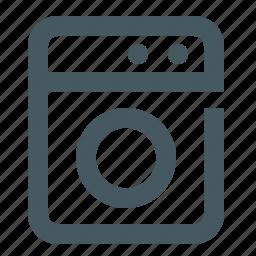 food, gizmo, kitchen, restaurant, simple, washing machine icon