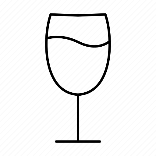 drink, glass, wine, wine glass icon