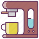 coffee, coffee maker, electronics, equipment, espresso, fast, kitchen icon