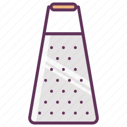 cheese, cooking, food, grater, kitchen, tools, utencils icon