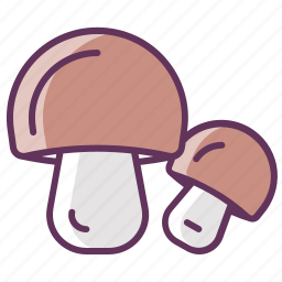 autumn, cooking, eating, food, mushroom, mushrooms, vegetable icon