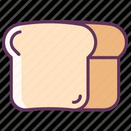 bread, breakfast, food, kitchen, lunch, sandwich, toast icon
