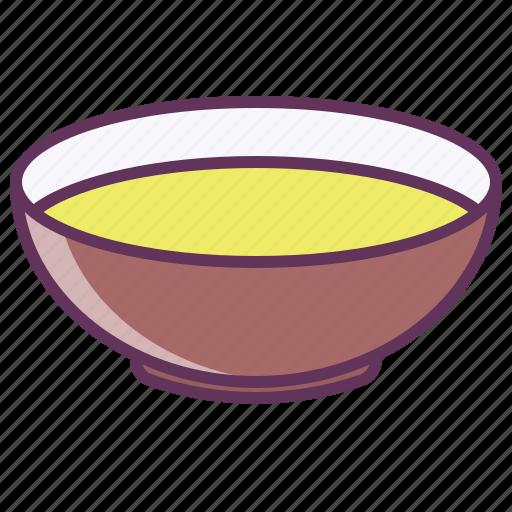 bowl, dinner, dish, food, liquid, plate, soup icon
