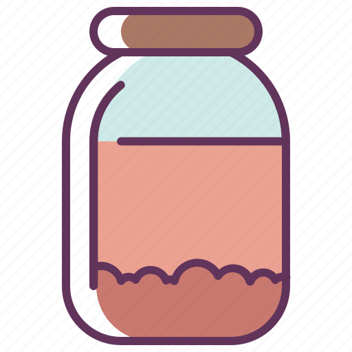 compote, conservation, cupping-glass, drink, juice, kitchen icon