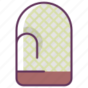 cook, cooking, kitchen, mitten, restaurant icon