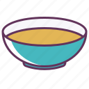 bowl, dinner, food, liquid, plate, restaurant, soup icon