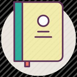 book, cooking, food, menu, notebook, recipe, restaurant icon