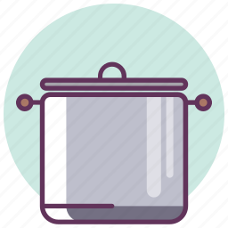 cooking, dishes, kitchen, lunch, pan, restaurant, soup icon