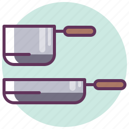 cooking, dishes, kitchen, lunch, pan, restaurant, utensil icon