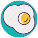 breakfast, egg, food, fried, omelette, scramble egg icon