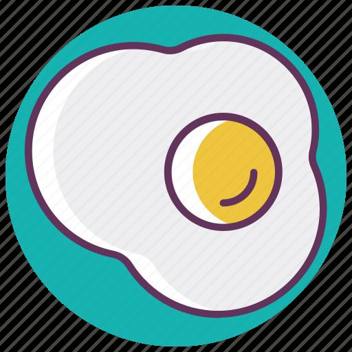 breakfast, egg, food, fried, omelette, scramble egg icon