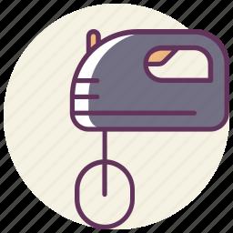 blender, cooking, food, kitchen, mixer, mixing, stick icon