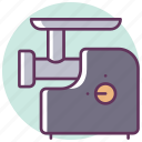 cooking, hasher, kitchen, meat grinder, meat-chopper, mincer, mincing machine icon