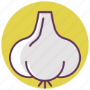 cook, cooking, food, garlic, kitchen, vegetable icon