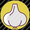 cook, cooking, food, garlic, kitchen, vegetable icon