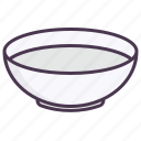 bowl, dinner, dish, food, plate, restaurant, soup icon