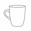 cafe, cup, drink, kitchen, mug, restaurant icon