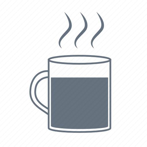 cup, drink, hot, mug, restaurant, steam, steaming, steamy, tea icon